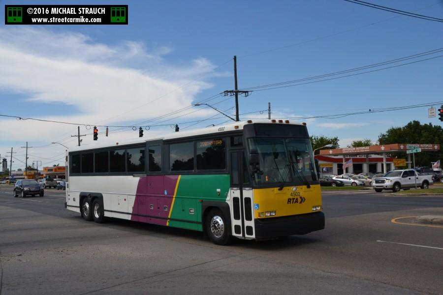 new orleans regional transit authority rta orion vii buses 150 188. Black Bedroom Furniture Sets. Home Design Ideas